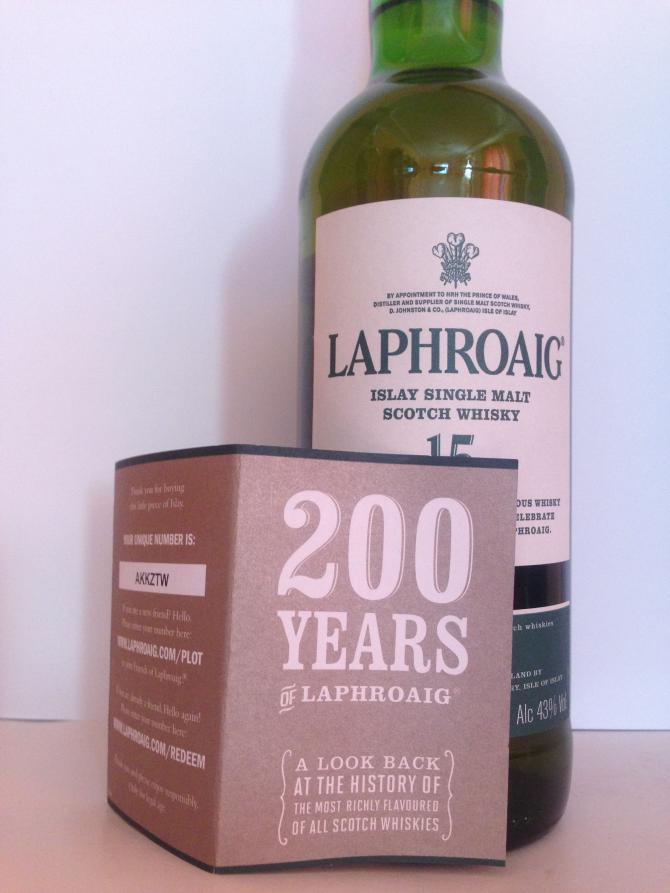 Laphroaig 15-year-old