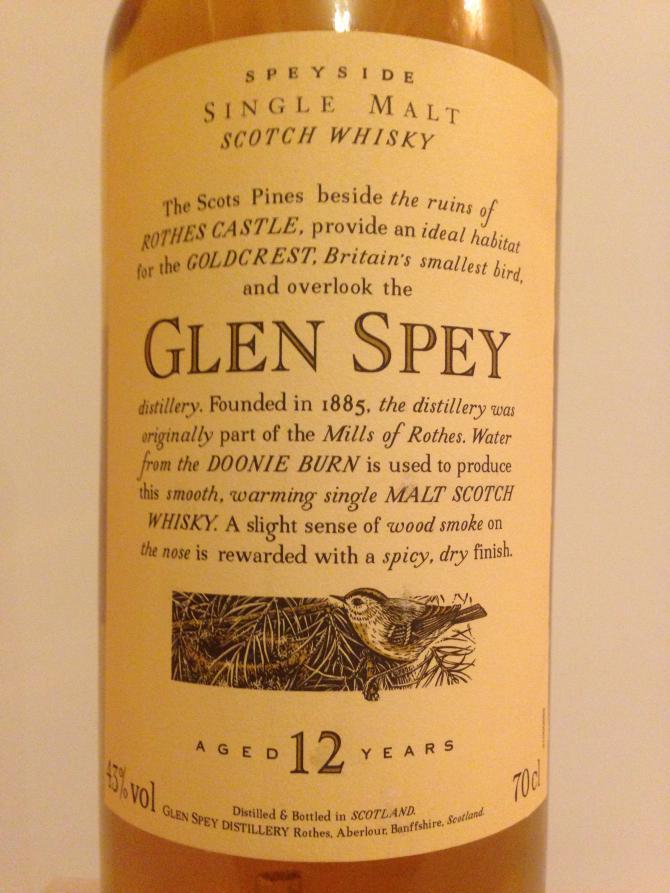 Glen Spey 12-year-old
