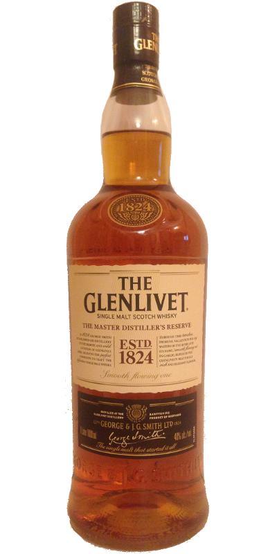Glenlivet The Master Distiller's Reserve