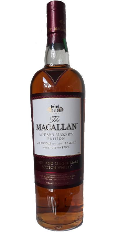 Macallan Whisky Maker's Edition - Peerless Spirit