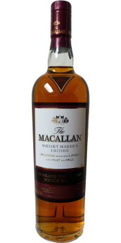 Macallan Whisky Maker's Edition - Natural Colour