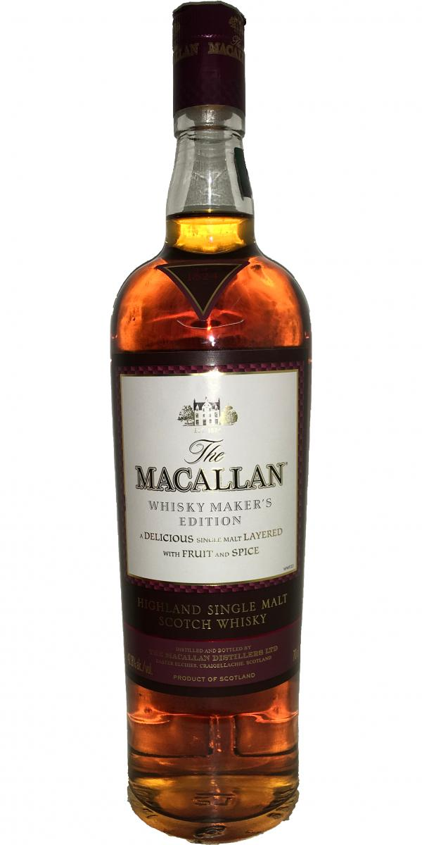 Macallan Whisky Maker's Edition - Exceptional Oak Cask