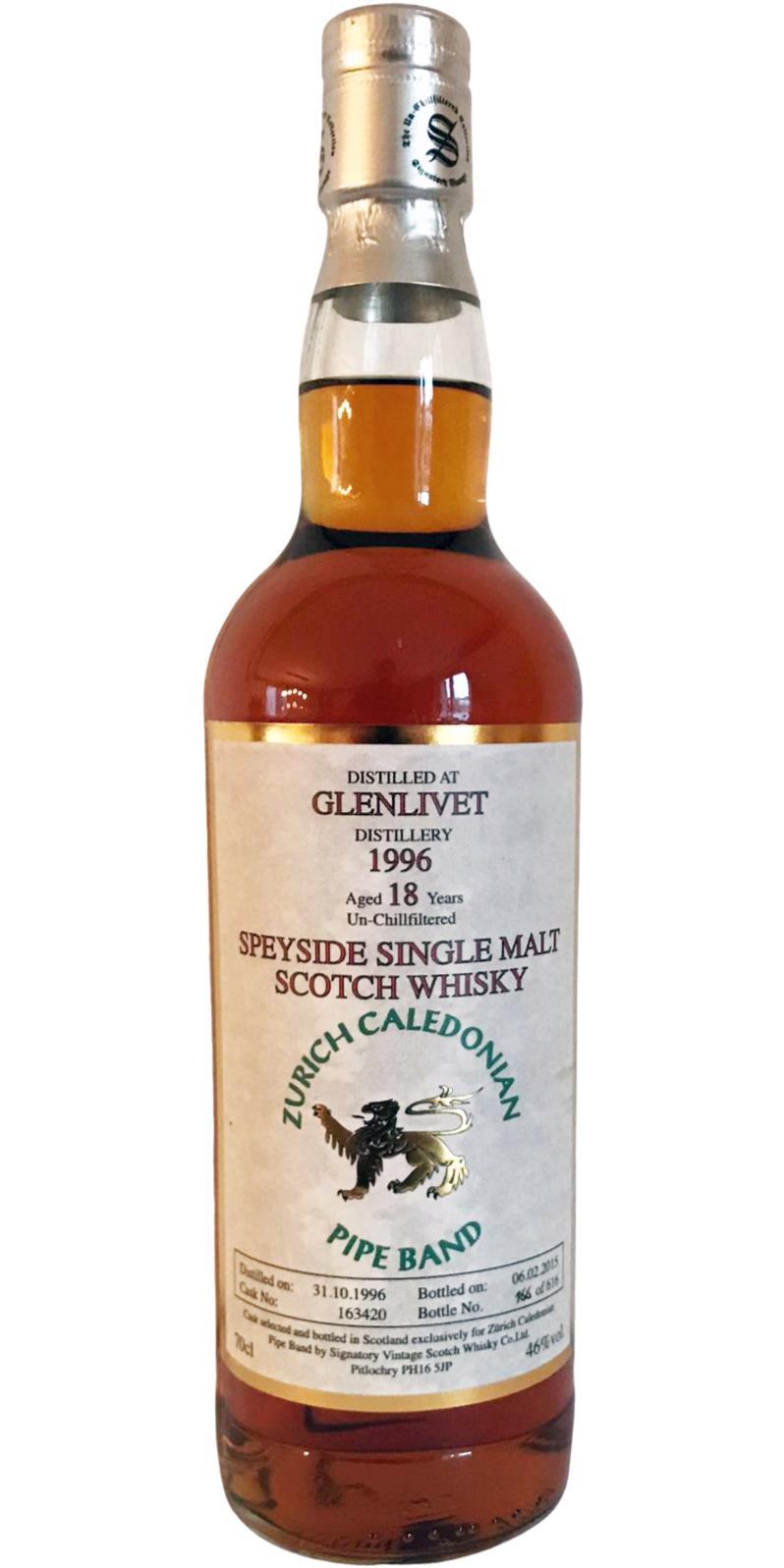 Glenlivet 1996 SV
