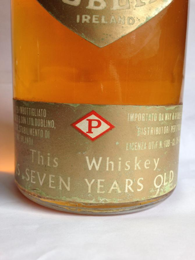 John Power & Son 07-year-old Dublin Whiskey