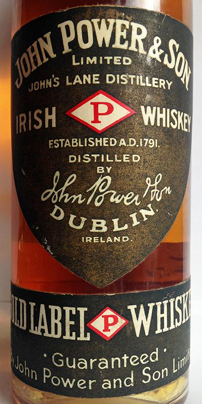 John Power & Son Irish Whiskey