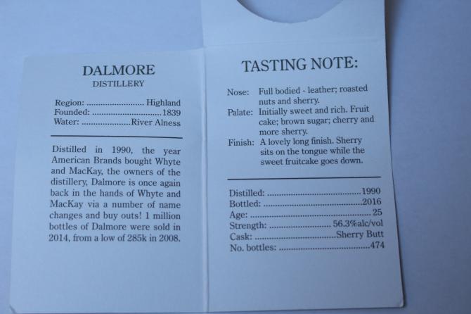 Dalmore 1990 CA