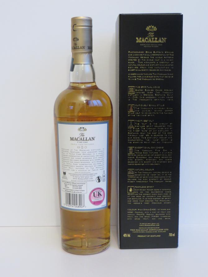 Macallan 12-year-old - Ernie Button Limited Edition