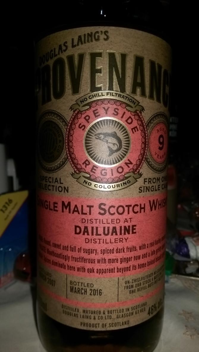 Dailuaine 2007 DL