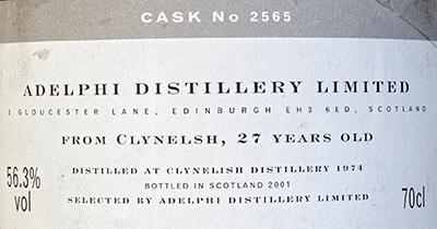 Clynelish 1974 AD