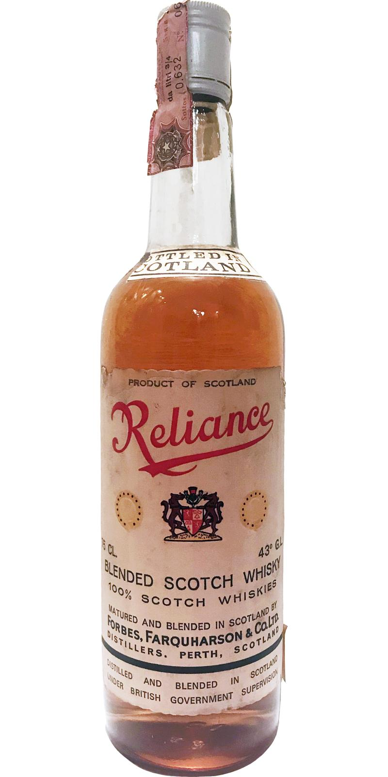 Reliance Blended Scotch Whisky