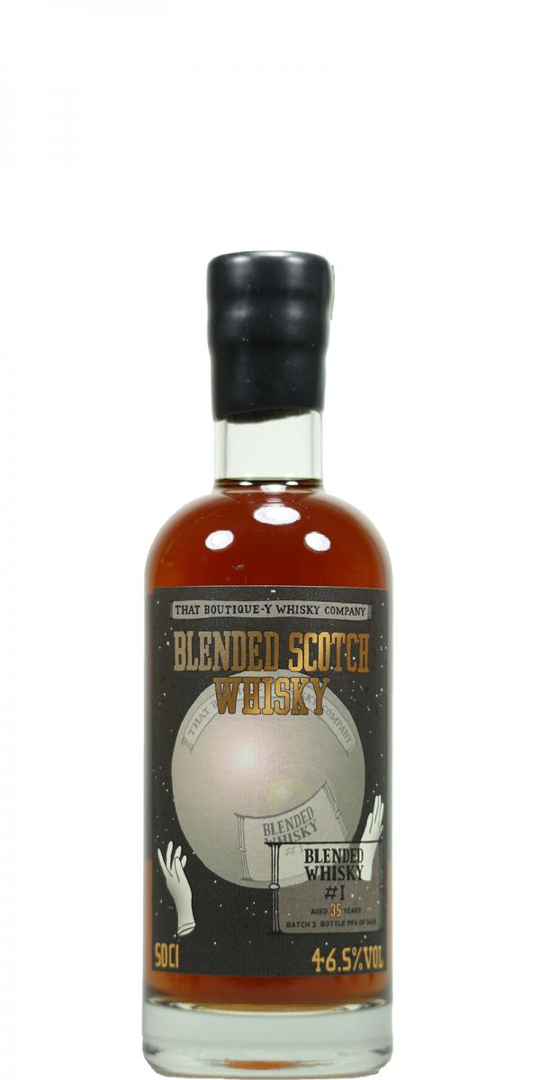 Blended Scotch Whisky #1 TBWC