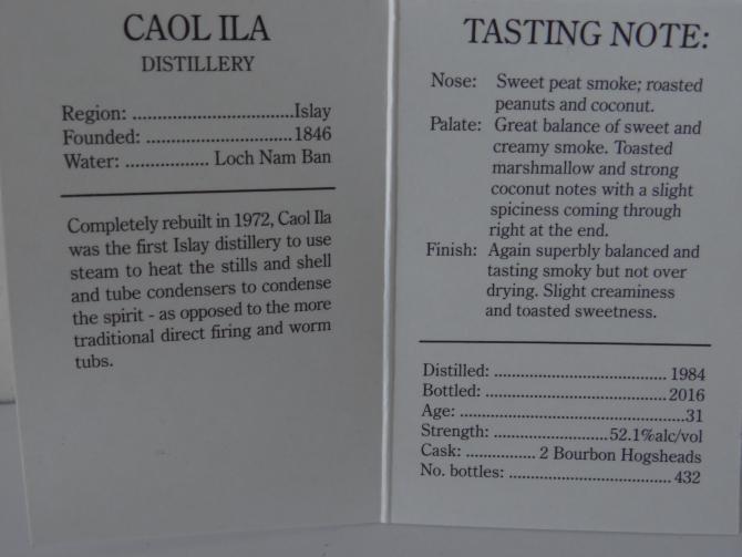 Caol Ila 1984 CA