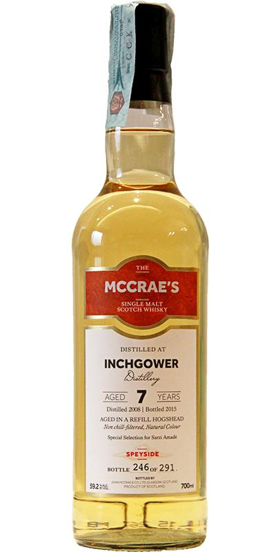 Inchgower 2008 JMC