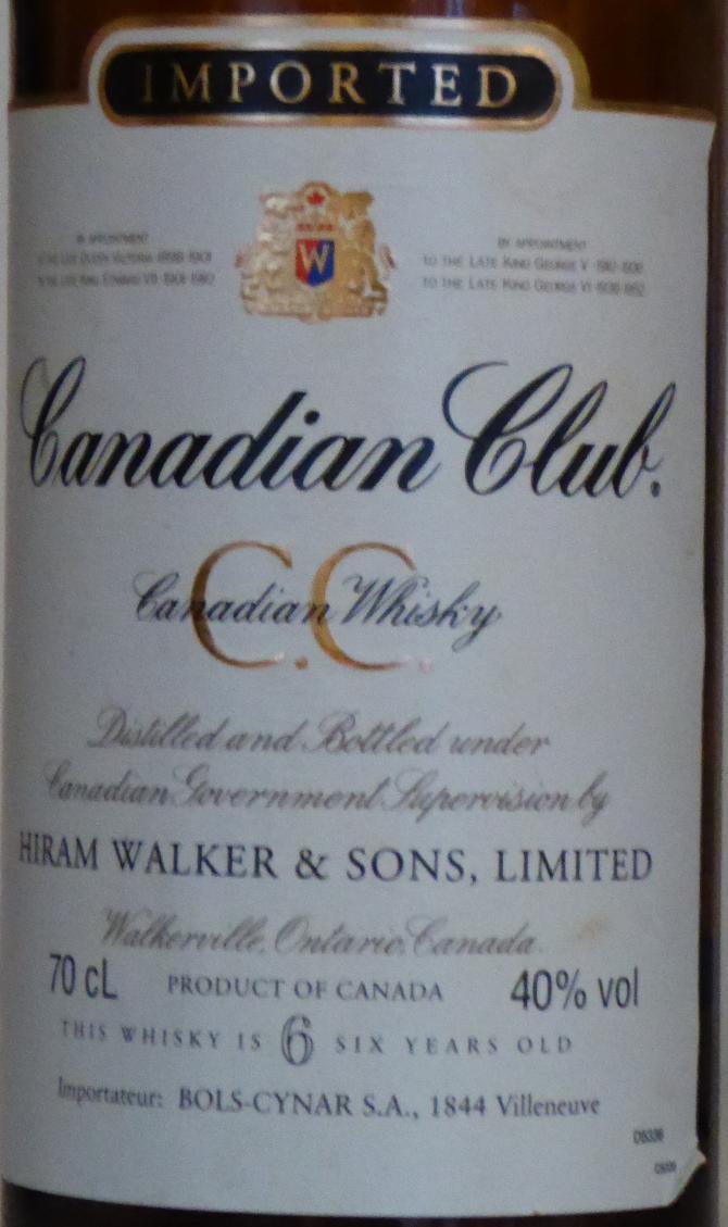Canadian Club 06-year-old