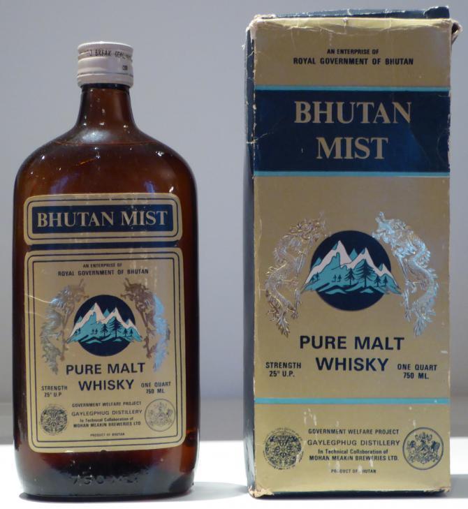 Bhutan Mist Pure Malt Whisky