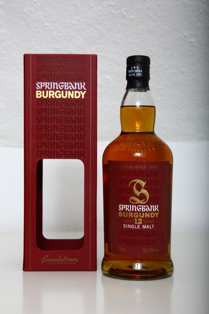 Springbank 12-year-old Burgundy