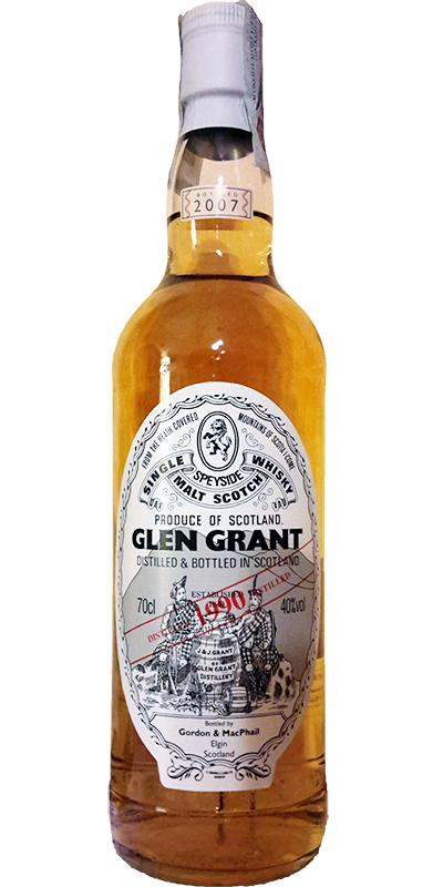Glen Grant 1990 GM