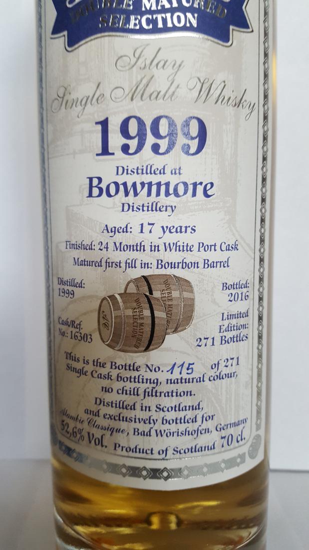 Bowmore 1999 AC