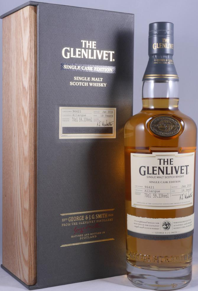 how to drink glenlivet 18 year old