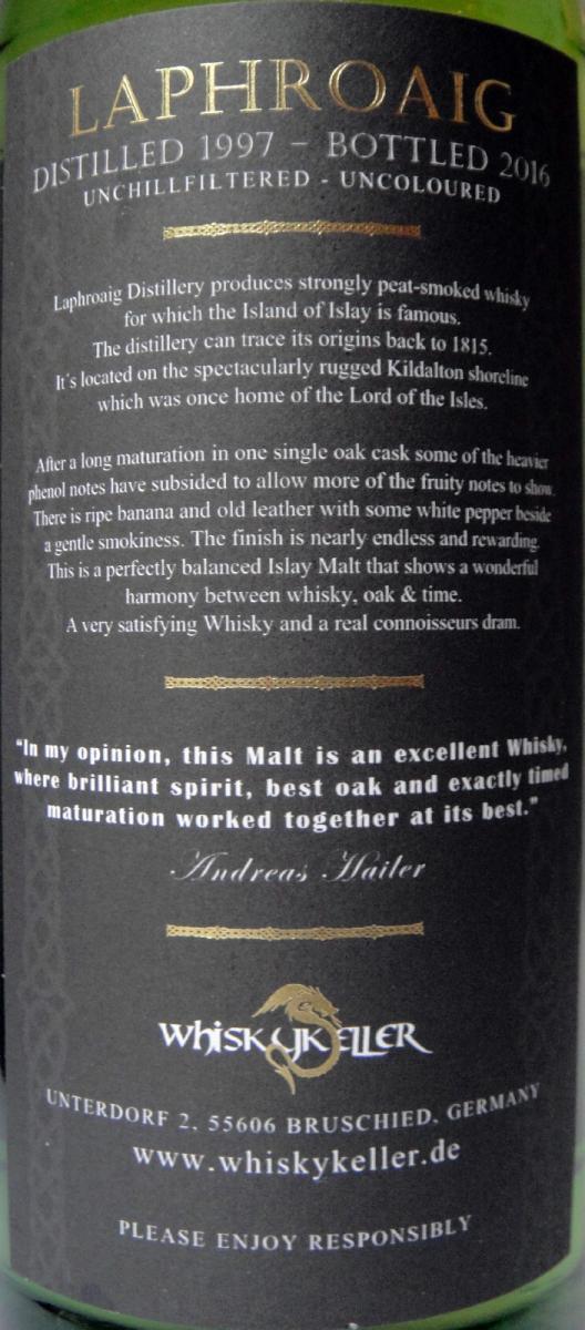 Lord of Islay 1997 Whk