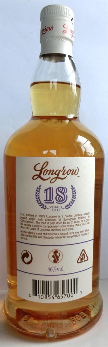 Longrow 18-year-old