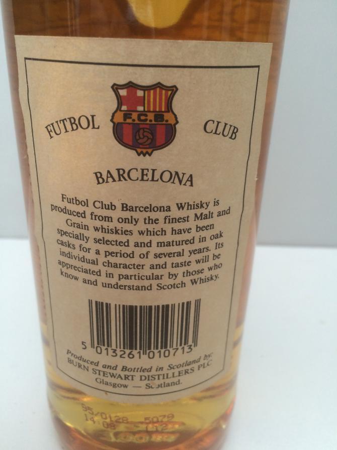 Burn Stewart Futbol Club Barcelona