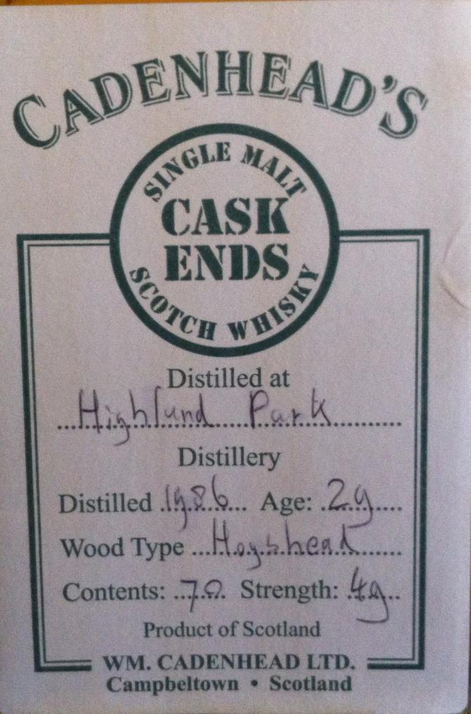 Highland Park 1986 CA