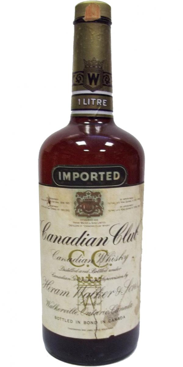 Canadian Club 1974 Imported