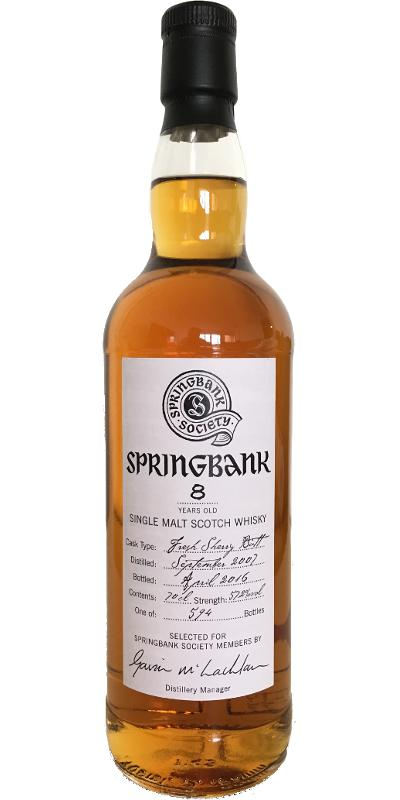 Springbank 2007