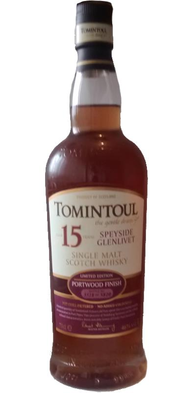 Tomintoul 15-year-old