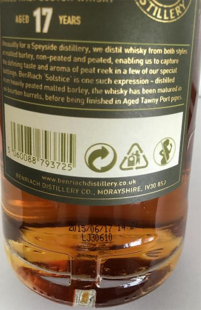BenRiach 17-year-old