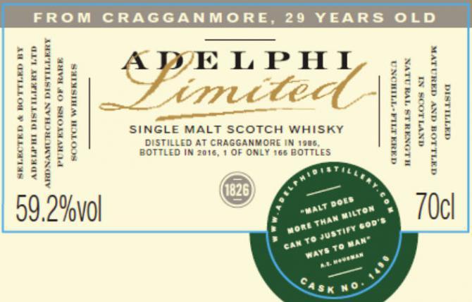 Cragganmore 1986 AD