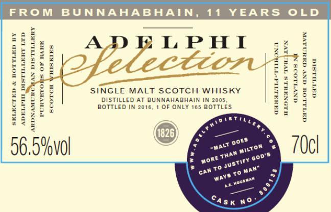 Bunnahabhain 2005 AD