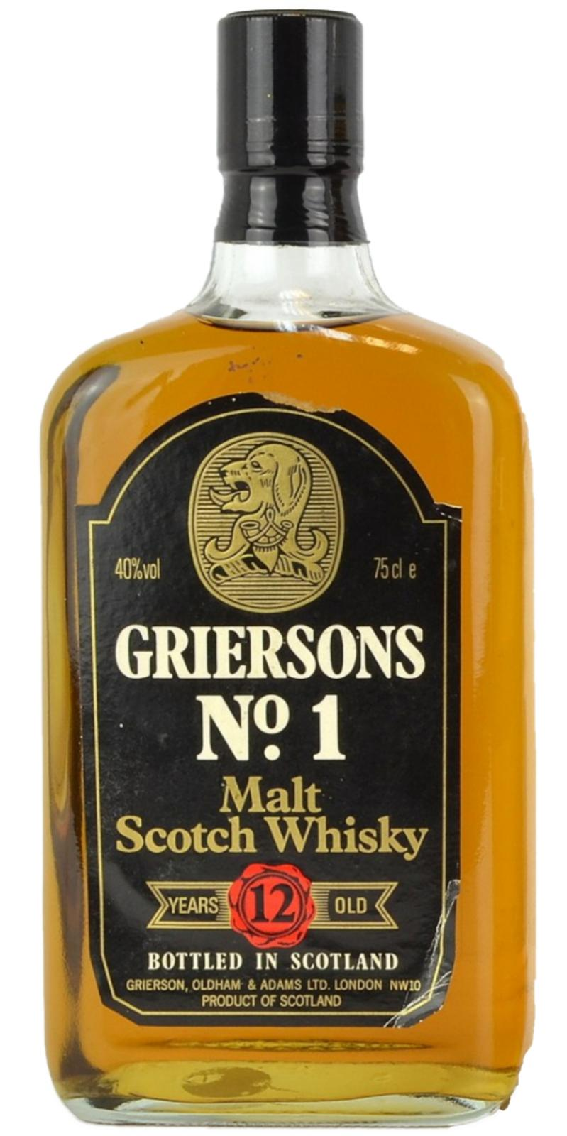 Griersons No.1 12-year-old