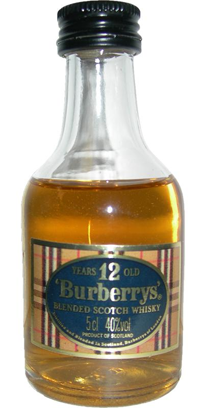 Burberrys' 12-year-old