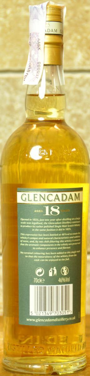 Glencadam 18-year-old