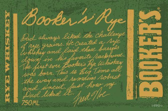 Booker's Rye 13 + 1 month + 12 days