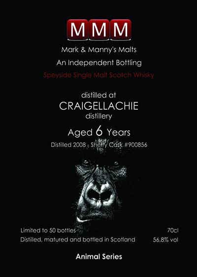 Craigellachie 2008 MMM