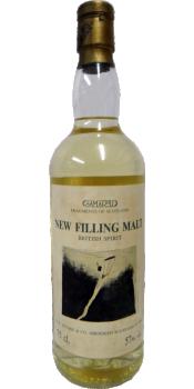 New Filling Malt British Spirit