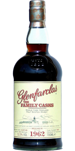 Glenfarclas 1962