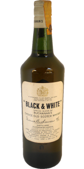Black & White Special Blend of Buchanan's Choice Old Scotch Whisky