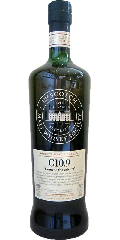 Strathclyde 1977 SMWS G10.9