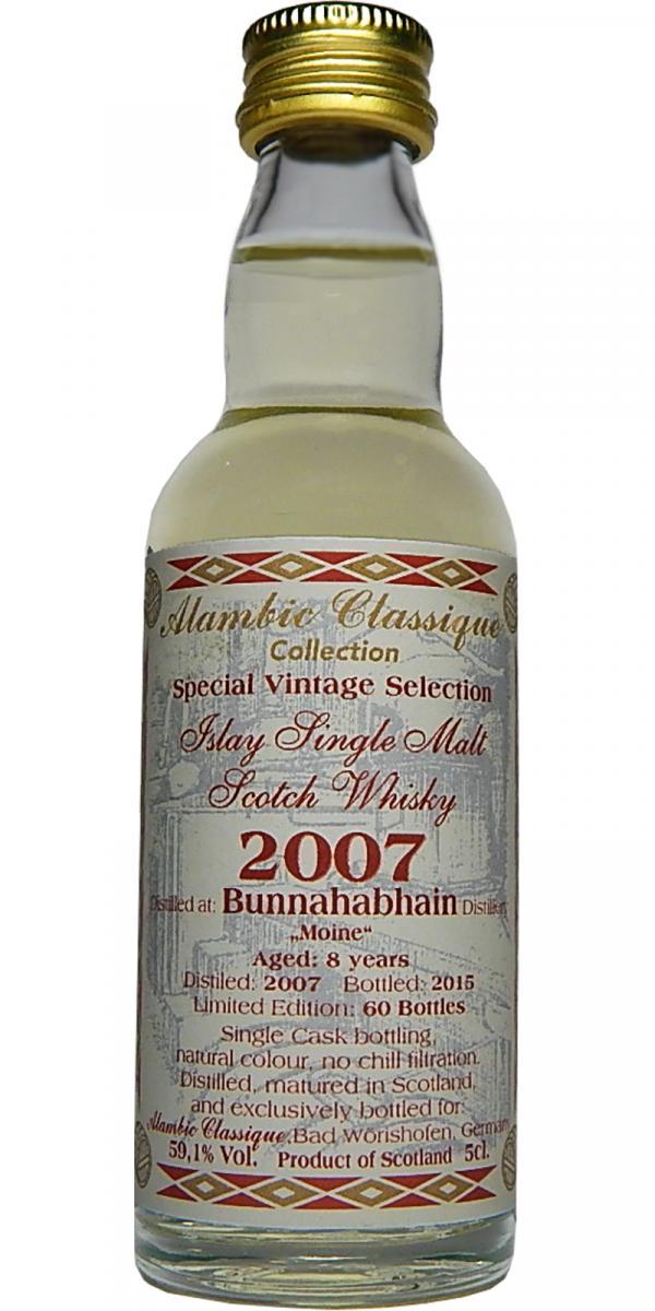 Bunnahabhain 2007 AC