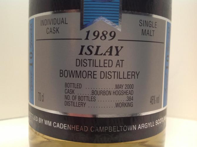 Bowmore 1989 CA