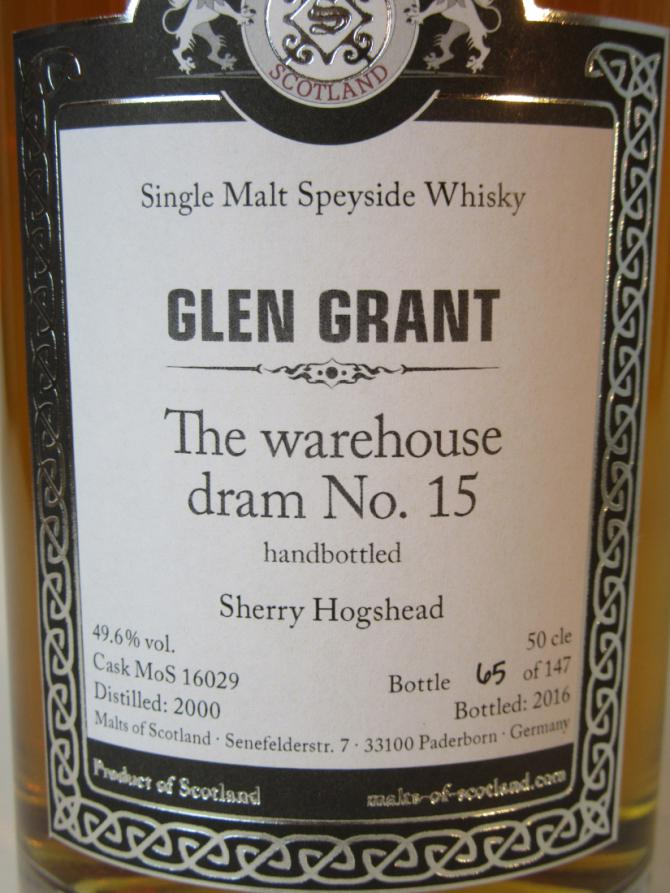 Glen Grant 2000 MoS