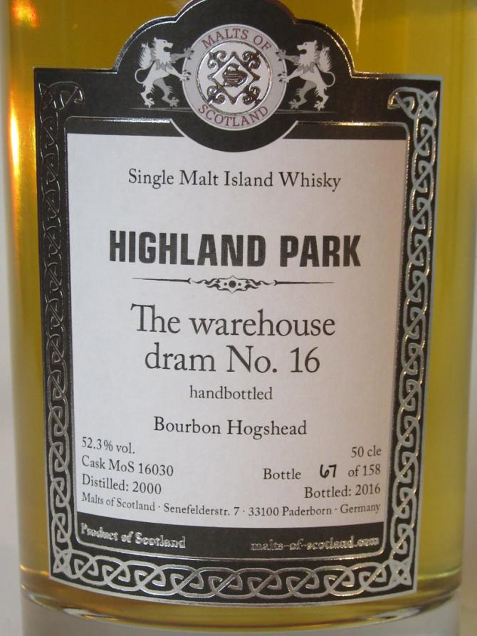 Highland Park 2000 MoS