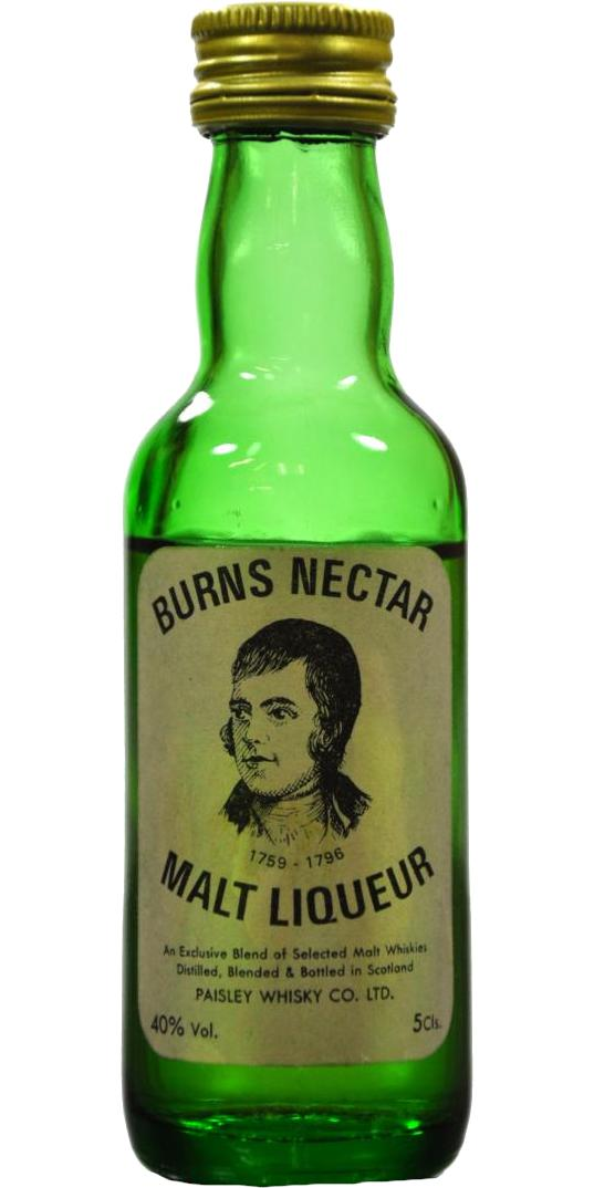 Burns Nectar Malt Liqueur PaW