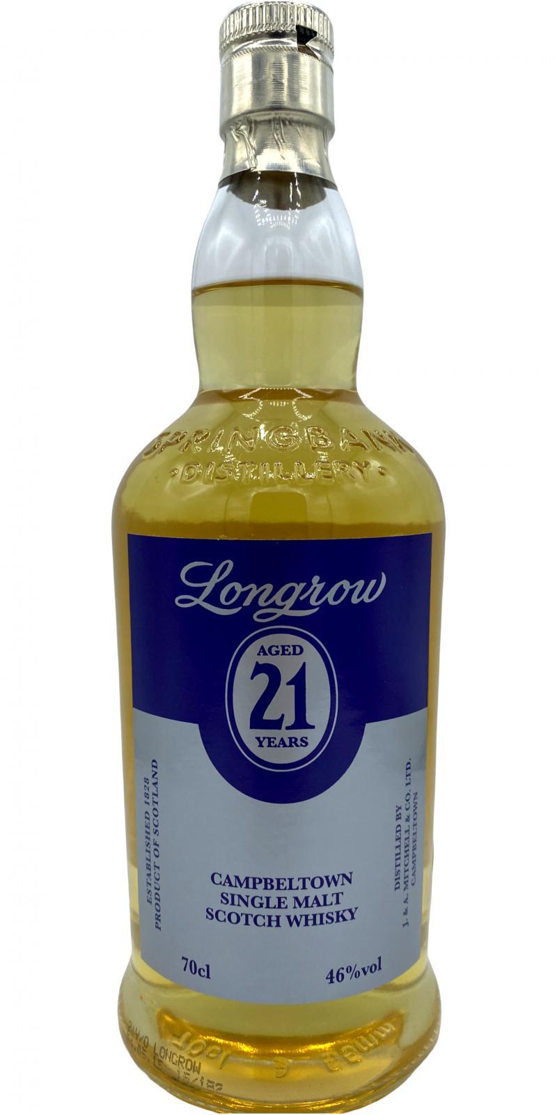 Longrow 21-year-old