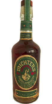 Michter's US*1 Barrel Strength Rye