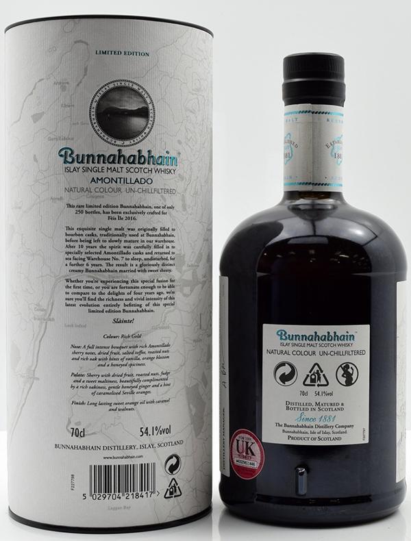 Bunnahabhain 16-year-old - Amontillado